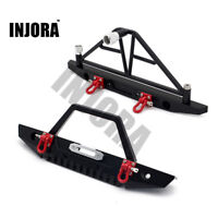 1:10 Metal Front Rear Bumper with Hook for RC Crawler Axial SCX10 II 90046 90047