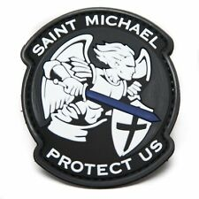 VELCRO® BRAND Hook Fastener Compatible PVC Saint Michael Protect Thin Blue Line