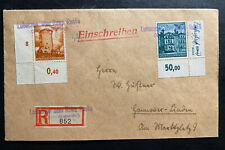 1941 Lubaczów General Government Germany Registered Cover To Lindau