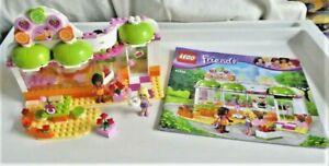 LEGO Friends Set 41035 Heartlake Juice Bar with Manual & 2 Minifigures - No Box