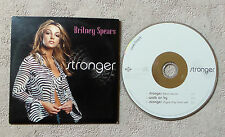 "CD AUDIO INT/ BRITNEY SPEARS ""STRONGER"" CD SINGLE 3 TITRES CARD SLEEVE 2000"