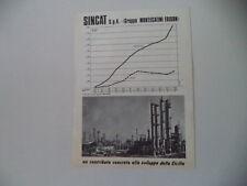 advertising Pubblicità 1968 SINCAT - MONTECATINI EDISON
