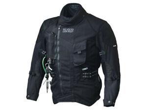 iXS Textile Jacket Stunt Airbag Black Biker Jacket Made Of Polyester