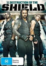 WWE - Destruction Of The Shield (DVD, 2015, 3-Disc Set)