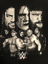 WWE Wrestlemania Sting Brock Lesnar Roman Reigns John Cena XL T-Shirt WWF nWo