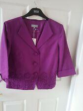 Per Una Violet Shade Of Purple Size 10 linen  Jacket