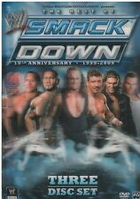 WWE: The Best of Smackdown - 10th Anniversary 1999-2009 (DVD, 2009, 3-Disc Set)