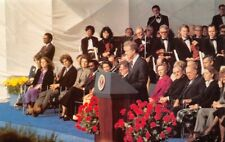 Opening John F Kennedy Presidential Library Jimmy Carter Mike Roberts