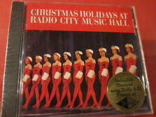 """LSOCD-1010 RADIO CITY""""CHRISTMAS HOLIDAYS""""(CLASSIC RECORD GOLD-CD/FACTORY SEALED)"""
