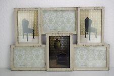 Bilderrahmen für 6 Fotos (10*15 cm) Foto Rahmen Collage Vintage Look  44*28 cm