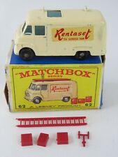 Lesney Matchbox 1963 #62 TV Service Van Rentaset Regular Wheels w/Original Box