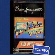 "BRUCE SPRINGSTEEN "" GREETINGS FROM ASBURY PARK "" MUSICASSETTA SIGILLATA MC K7"