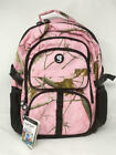 Geckobrands Realtree Pink Camo Compartment Backpack