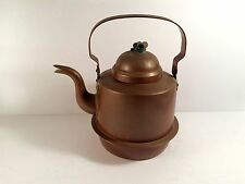 Vintage Tea kettle.  Really nice piece with minor wear as shown.