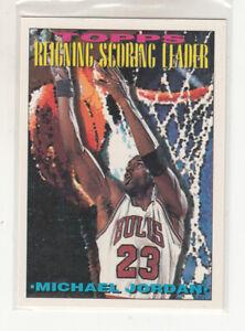 MICHAEL JORDAN 1993-94 Topps Reigning Scoring Leader #384 Bulls Last Dance Mint