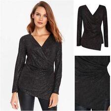 Wallis Long Sleeve Wrap Tops & Shirts for Women