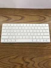 Apple Magic Keyboard 2 Bluetooth A1644 Silver White. NO POWER CORD