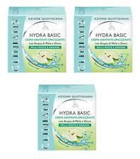 3pz CLINIANS HYDRA BASIC Crema Viso Idratante Opacizzante pelli miste e grasse