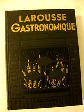 LAROUSSE GASTRONOMIQUE. PROSPER MONTAGNE 1938. GASTRONOMIE CUISINE....