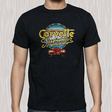 Corvette Summer Movie Comedy Logo Men's Black T-Shirt Size S to 3XL