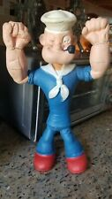"""Vintage 12"""" Popeye 1968 soft Bendable Toy King Features Syndicate Mfg Lakeside"""