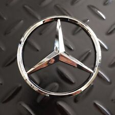 "New - Mercedes-Benz™ MB Trunk Chrome Star Emblem Badge Logo 3.5"" 90mm 2128170016"