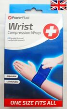 WRIST COMPRESSION WRAP SPRAINS STRAINS SPORT INJURIES FIRM COMFORTABLE