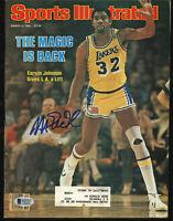 Lakers Magic Johnson Signed March 1981 Sports Illustrated Magazine BAS #MJ02987
