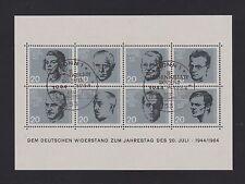 Briefmarken aus Deutschland (ab 1945) mit Sonderstempel und Geschichts-Motiv