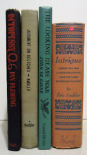 Mixed Lot of 4 - THRILLER / SUSPENSE / MYSTERY / ACTION / SPY NOVELS MIX!
