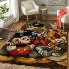 Minnie, Mickey Mouse, Pluto & Donald Duck 190830 Disney Carpet Living Room Rugs