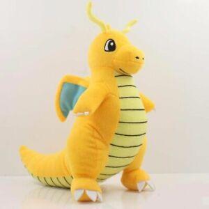 "9"" Plush Doll Toy Dragonite Collectible Charizard Stuffed Animal Gift"
