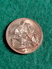 More details for 1909. gold sovereign coin uk. edward vii