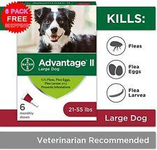 sale~Bayer Advantage Ii Large Dog Flea Prevention, Topical Flea Treatment - 6 pc