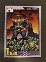 THANOS #85 - 1991 IMPEL / MARVEL UNIVERSE Series 2 SUPER -VILLIANS