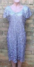 Grey lace dress, size 18, Australian seller, free postage