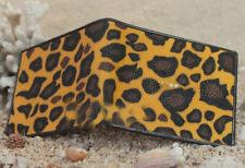 Stingray Wallet Wallet Men's Leopard motif Leather Genuine Bifold Skin