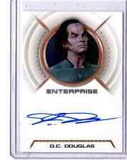 Star Trek Enterprise A9 D.C.Douglas auto card