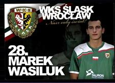 Marek Wasiluk Autogrammkarte Widzew Lodz Original Signiert + A 123104
