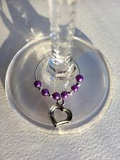 20 Wedding Wine Glass Charms. Party, Favours, Gift, Hen Night
