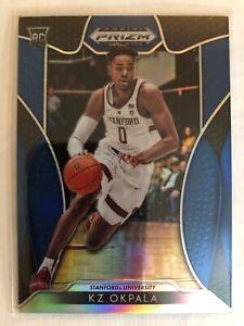 KZ Okpala 2019 Panini Prizm Draft Picks #97  RC Rookie Blue Prizms Stanford