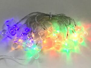 20 x Coloured LED Fairy Xmas Party Lights Motorcycle Motorbike - Ideal Gift
