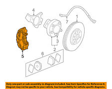 Chevrolet GM OEM 12-13 C6 Corvette Disc Brake Yellow Caliper Left Front 22799632