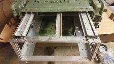 ECS 8000 Legacy 4U 19x24 Slide Out Rackmount Shock Mount Equipment Case Lid Bag