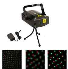Laser Projector Stage Lights Mini Led R&G Lighting Dj Disco Party Club Ktv Xmas
