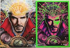LOT of 2 ~ Marvel Doctor Strange AMC Exclusive 9.5 x 13 inch Posters Ships Flat