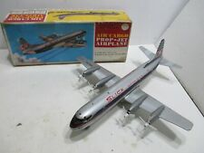 SLICK AIR CARGO MINT IN BOX COND TIN BATTERY OPERATED MADE N JAPAN WORKS