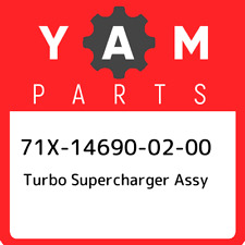 71X-14690-02-00 Yamaha Turbo supercharger assy 71X146900200, New Genuine OEM Par