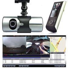"""2.7"""" 1080P Car DVR Vehicle Camera Video Recorder Dash Cam G-Sensor GPS Dual Lens"""
