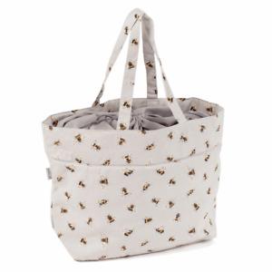 Craft Bag ~ Drawstring ~ Bee ~ Hobbygift ~ MR4724587